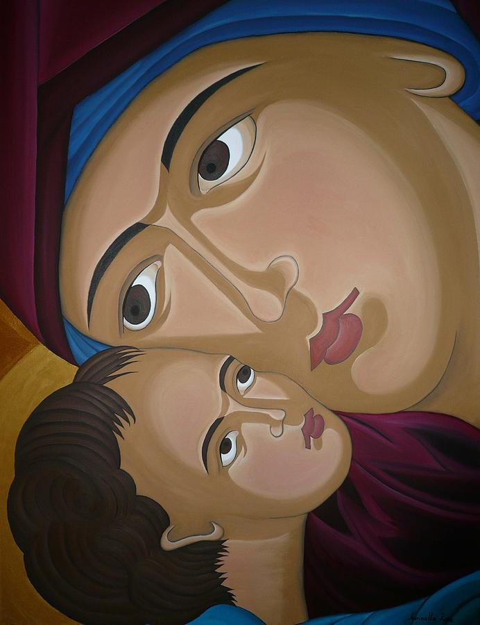 Mother-love Painting by Marinella Owens
