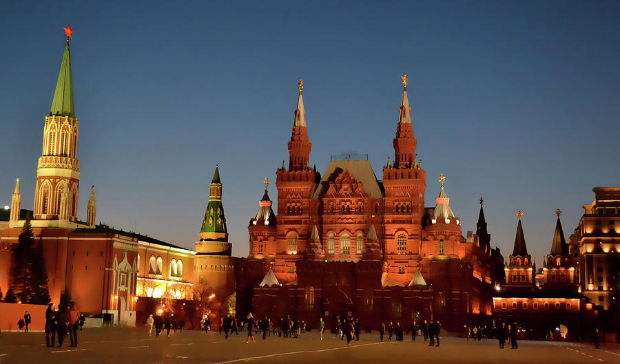 Moscow Photograph - Mother Moscow by JAMART Photography