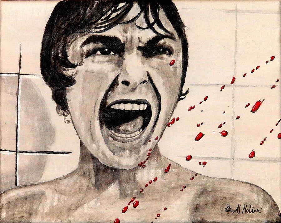 Horror Painting - Mother Noooo by Al  Molina