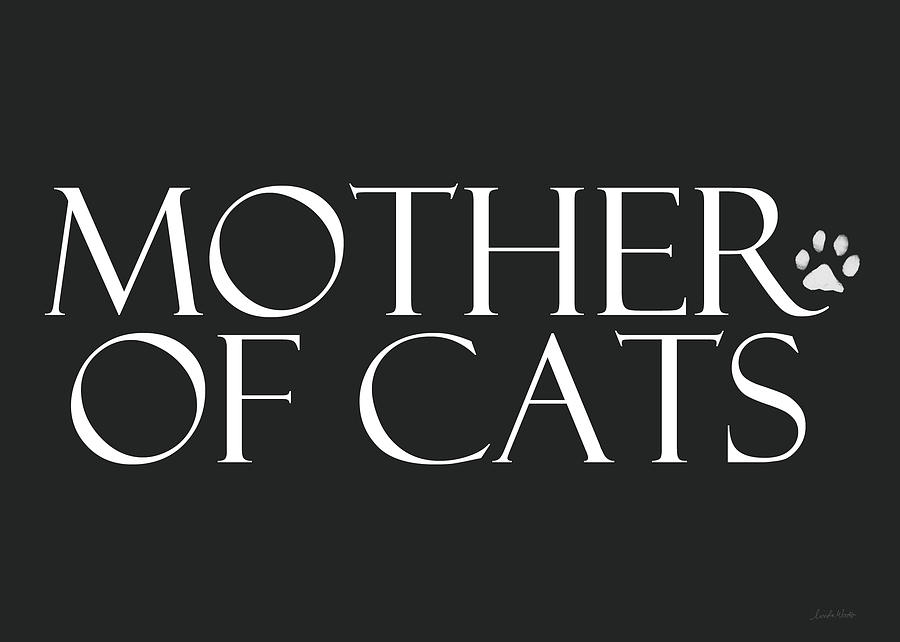 Cat Digital Art - Mother Of Cats- By Linda Woods by Linda Woods