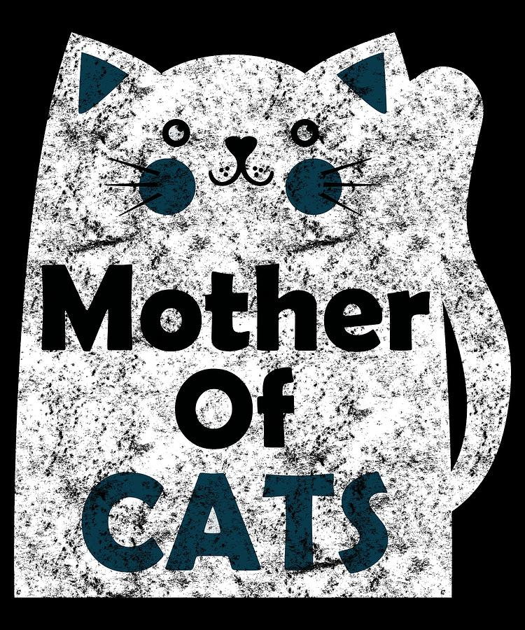 Mother Of Cats Distressed