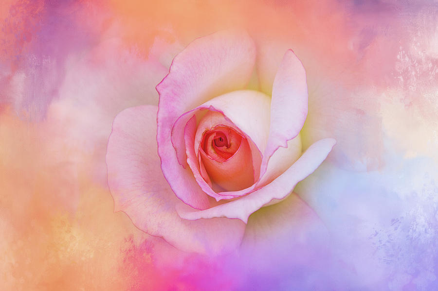 Spring Digital Art - Mother Of Pearl In Spring by Terry Davis