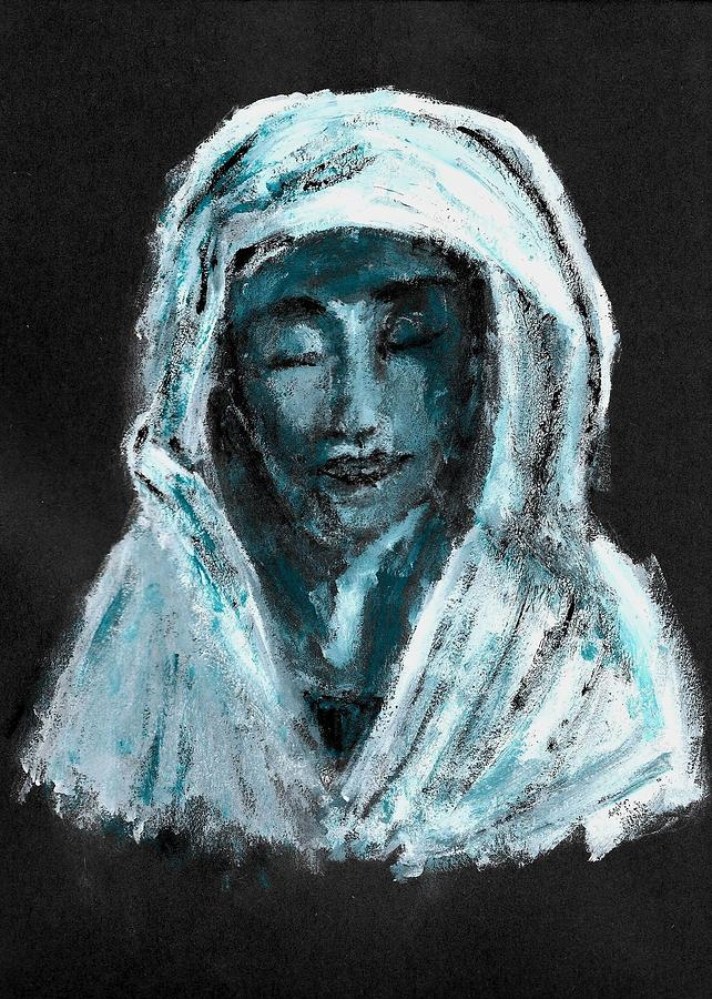 Mary Painting - Mother Of Sorrows by Mikayla Ruth Koble
