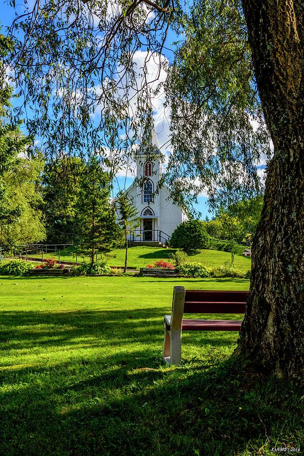 Cape Breton Photograph - Mother Of Sorrows Pioneer Shrine by Ken Morris