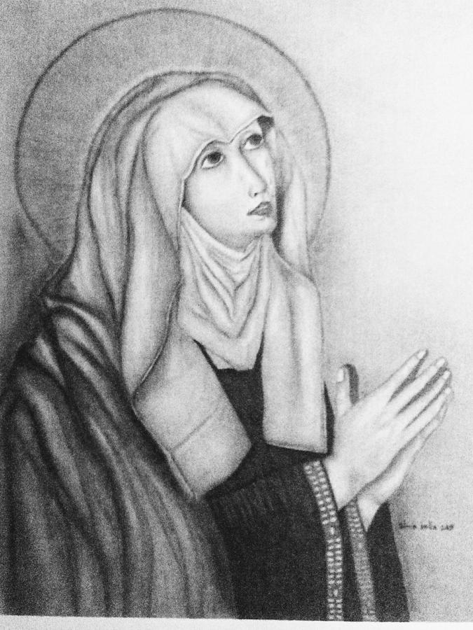 Mother of Sorrows version1 by Alma Bella Solis