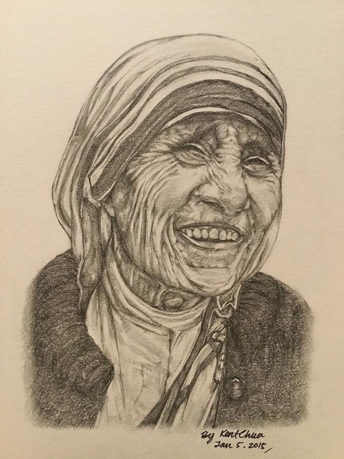Mother Theresa Photograph - Mother Theresa Kindness by Kent Chua