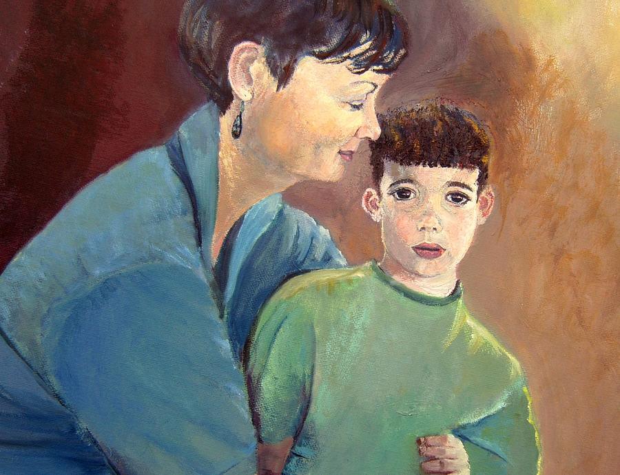 Motherhood Painting by Aviva D Sasson