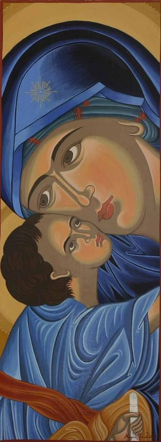 Motherlove Painting - Motherlove by Marinella Owens