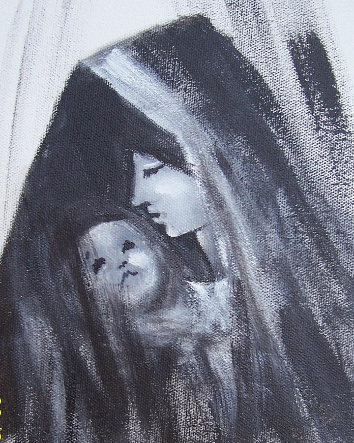 Motherly Love Painting by Martha Mullins