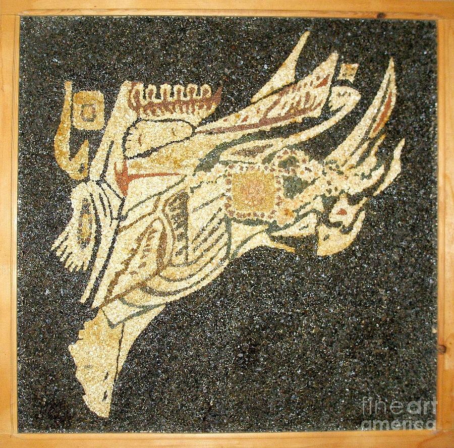 Pelican Relief - mother.p. IV - Pegasus by Boyka Zaharieva