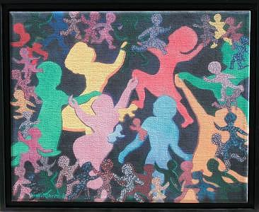 Mothers Dance Painting by Naomi Gerrard