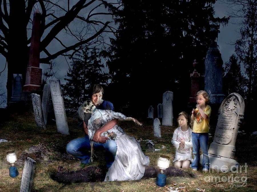 Cemetery Photograph - Mothers Day by Tom Straub