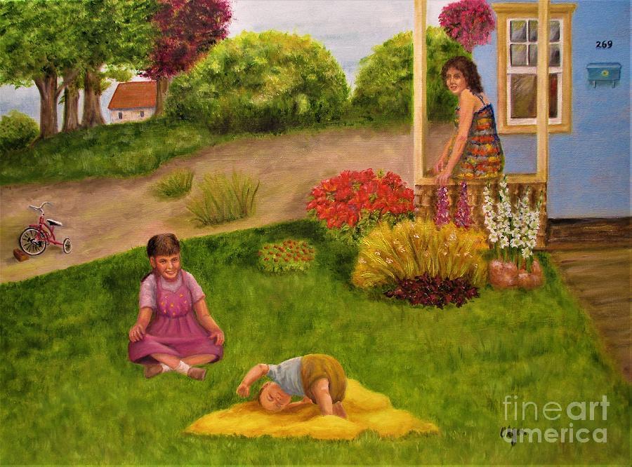 Mother's Little Helper by Olga Silverman