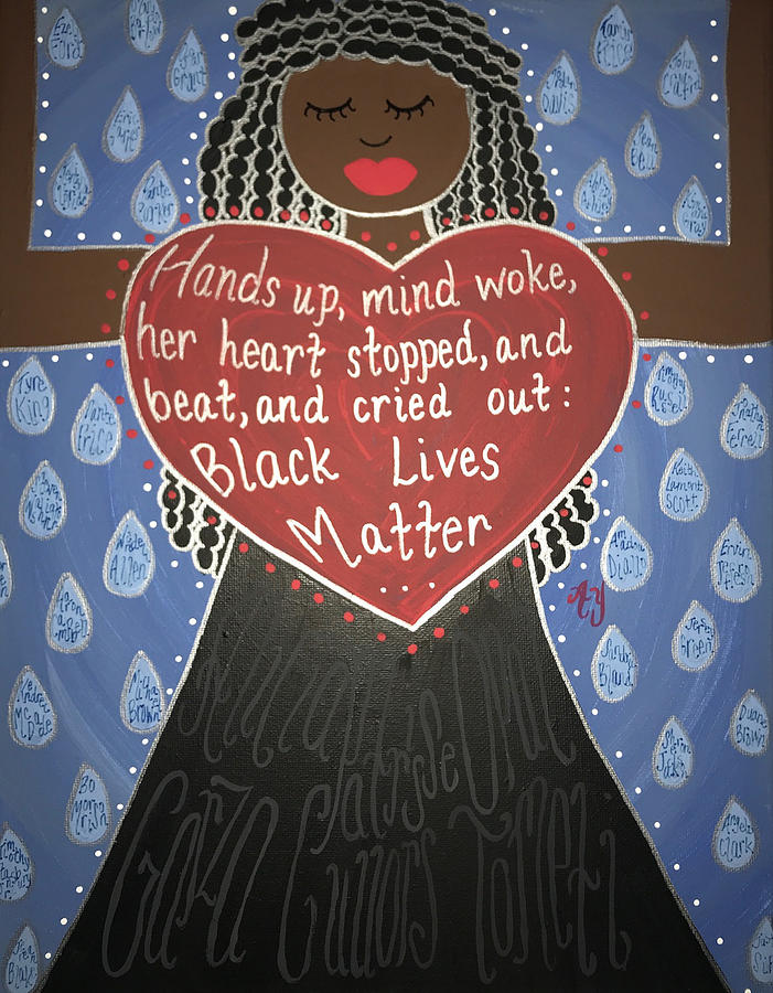 Holy Painting - Mothers Of Black Lives Matter  by Angela Yarber