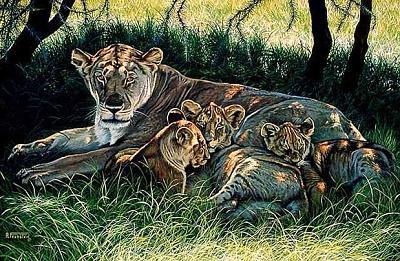 Mothers Pride Painting by Al Feldstein