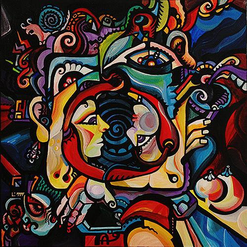 Mothers Revenge Painting by Alex Arshansky
