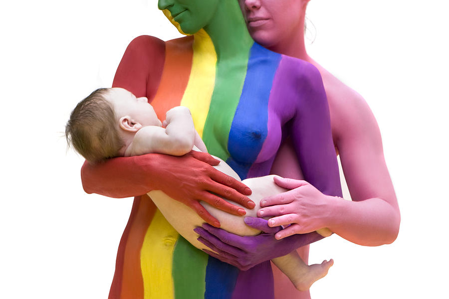 Gay Pride Photograph - Mothers To Be by Filippo Ioco