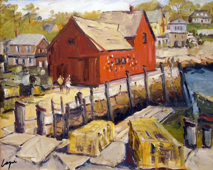 Motif 1 Painting - Motif 1 In Spring by Chris Coyne