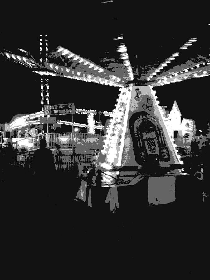 Digital Photograph - Motion At The Fair by Charles Durbin