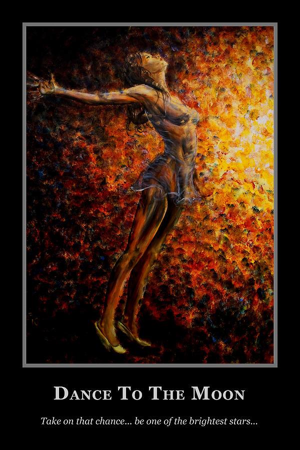 Motivational Painting - Motivational Dance Goals by Nik Helbig