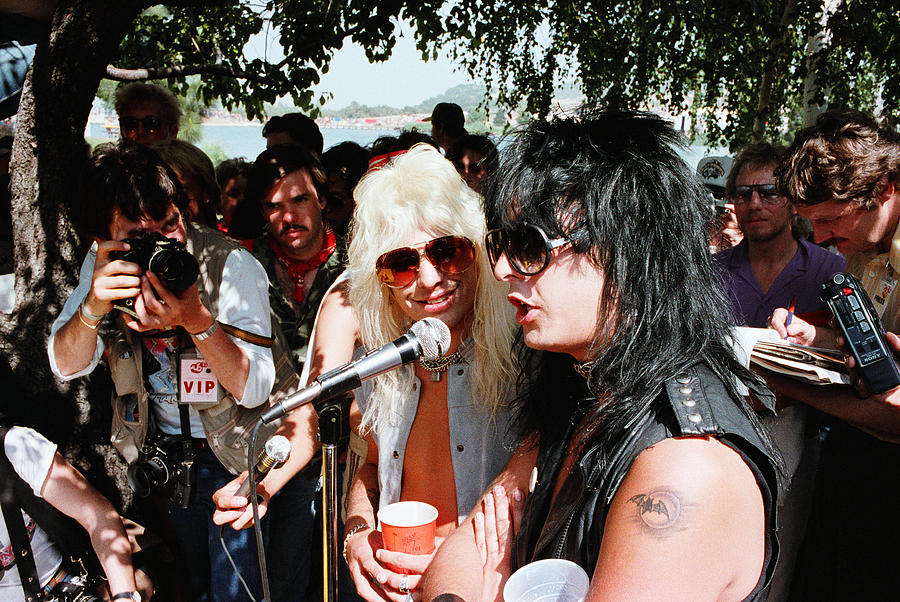 Motley Crue Us Festival 83 2 Photograph By Chris Deutsch