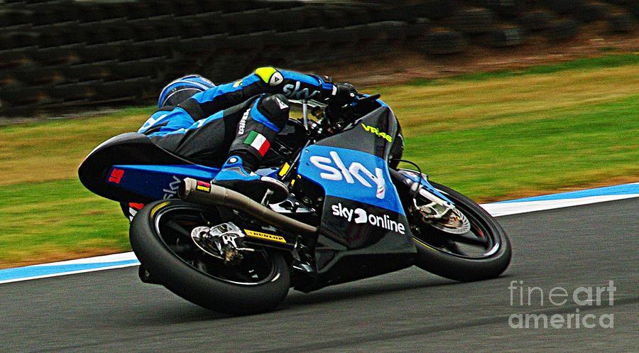 Phillip Island Photograph - Moto Grand Prix by Blair Stuart