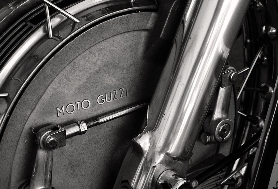 Motorcycle Photograph - Moto Guzzi V7 by Marley Holman