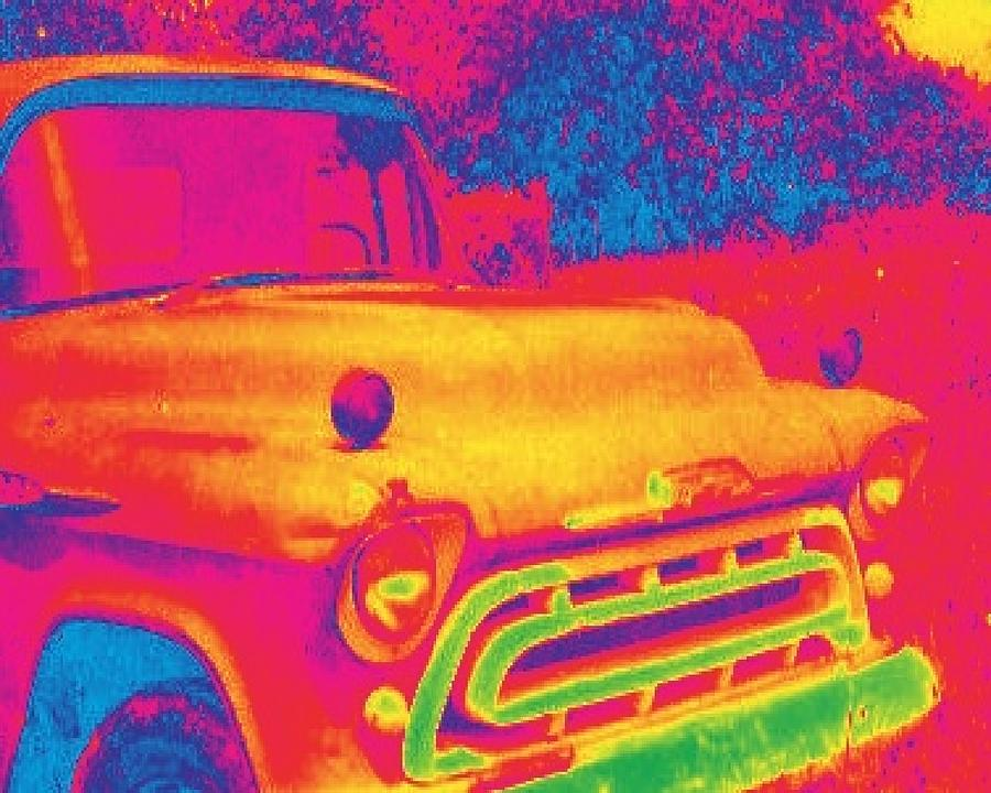 1957 Chevy Truck Digital Art - Motor City Pop #6 by Robert Grubbs