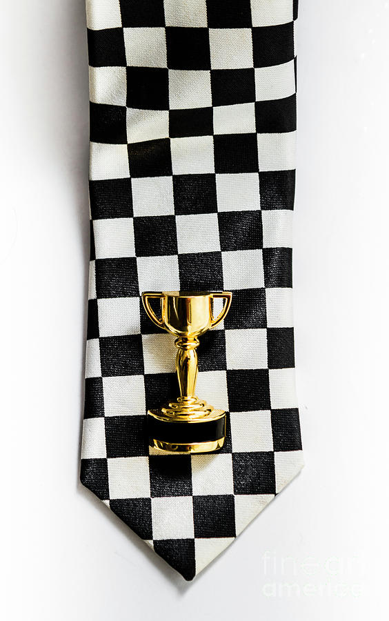 1st Photograph - Motor Sport Racing Tie And Trophy by Jorgo Photography - Wall Art Gallery
