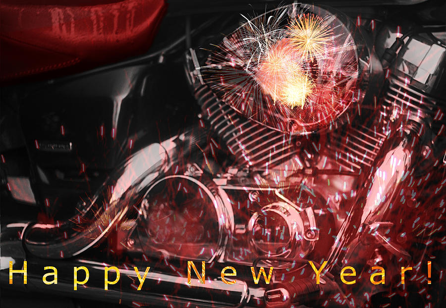 Image result for happy new year motorcycle pictures