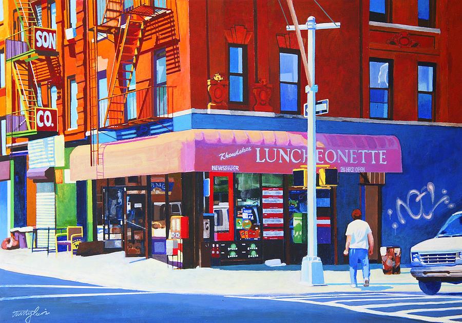 New York City Painting - Mott Street by John Tartaglione
