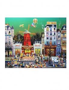 Moulin Rouge Painting by Hiro Yamagata