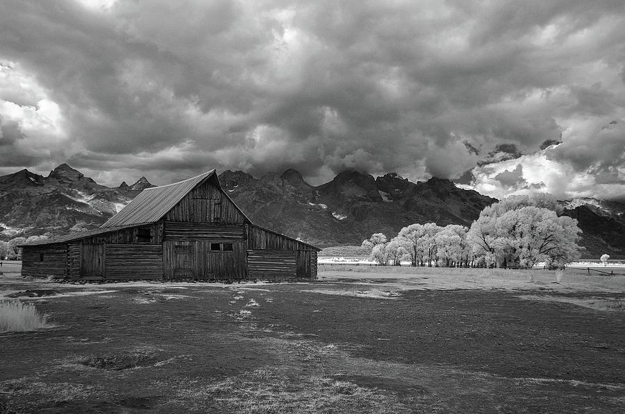 Barn Photograph - Moulton Barn At The Tetons by John Roach