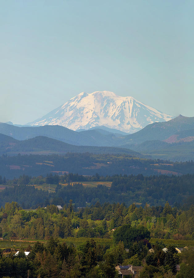 Mount Adams In Washington State Photograph