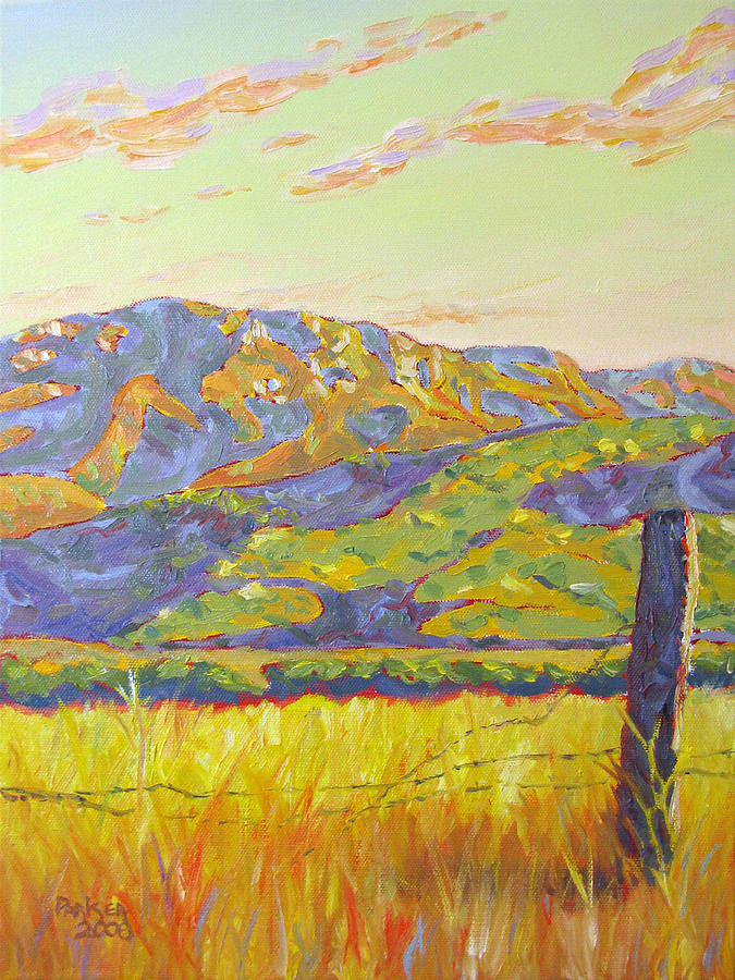 Oil Painting - Mount Boney by Patrick Parker