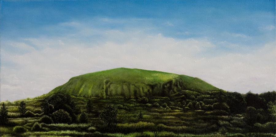 Landscape Painting - Mount Coolum by Joe Michelli