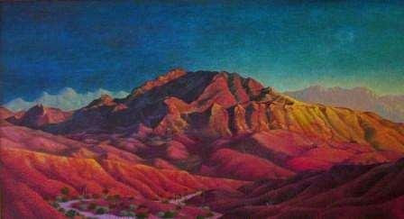 Southwest Painting - Mount Cristo Rey by Bassel Wolfe