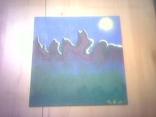 Mount Darnillious Original Painting by Darnillious Designs