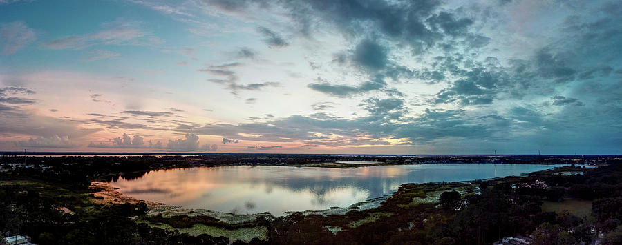 Mount Dora Photograph - Mount Dora FL Sunset by Michael Daniels