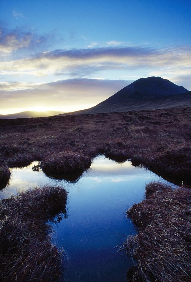 County Donegal Photograph - Mount Errigal, County Donegal, Ireland by Gareth McCormack