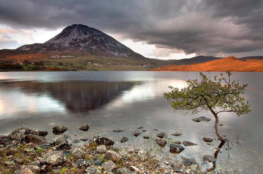 Mount Photograph - Mount Errigal by Pawel Klarecki
