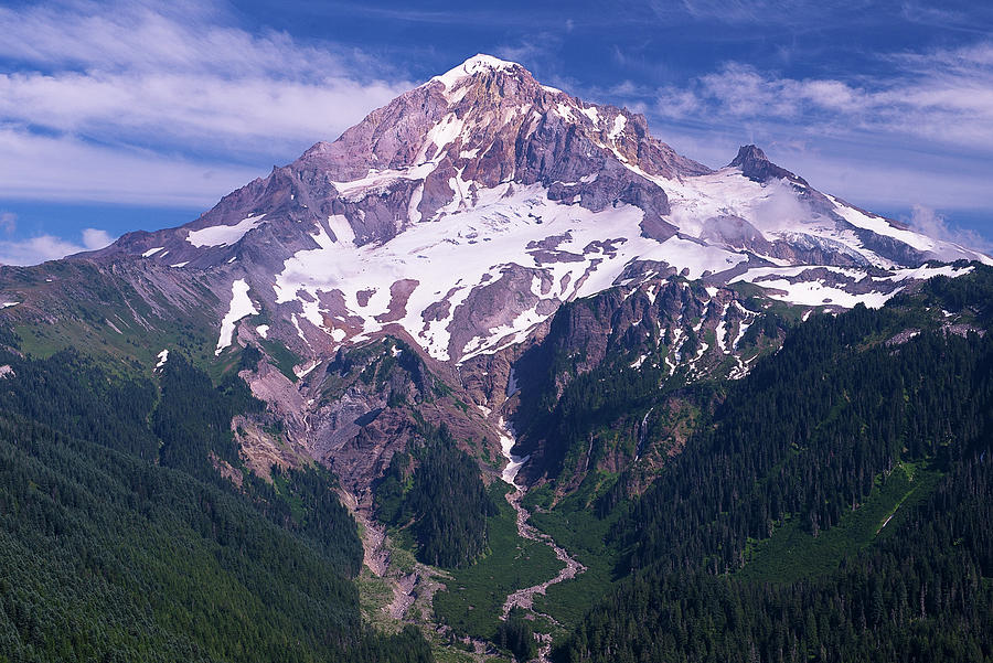 Mount Hood by Patrick Campbell