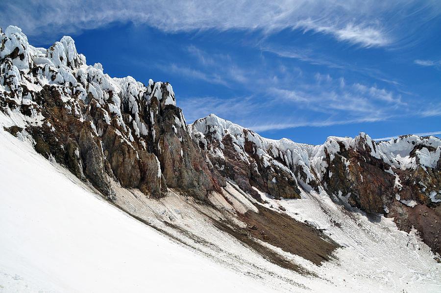 Mount Hood Photograph - Mount Hood by Stevyn Llewellyn