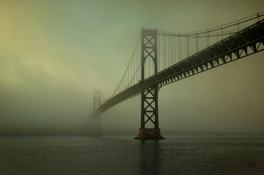 Mount Photograph - Mount Hope Bridge by Dave Gordon
