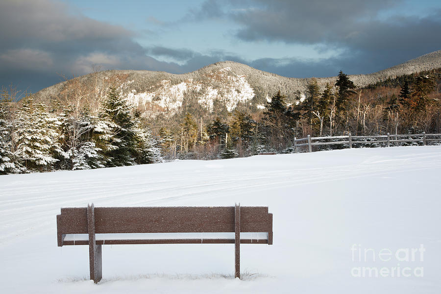 White Mountain National Forest Photograph - Mount Huntington - White Mountains New Hampshire  by Erin Paul Donovan
