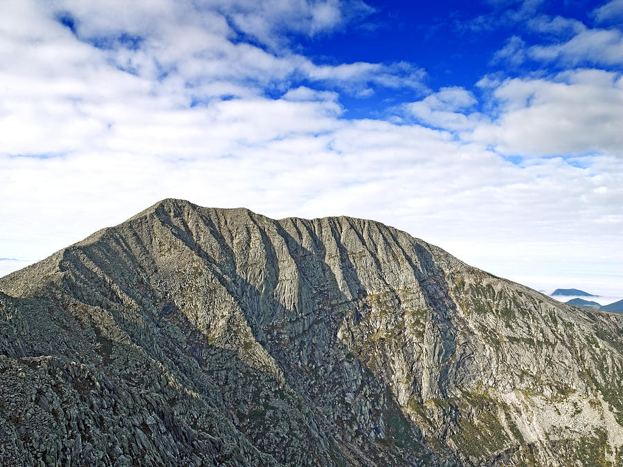 Katahdin Photograph - Mount Katahdin In Baxter State Park Maine by Brendan Reals