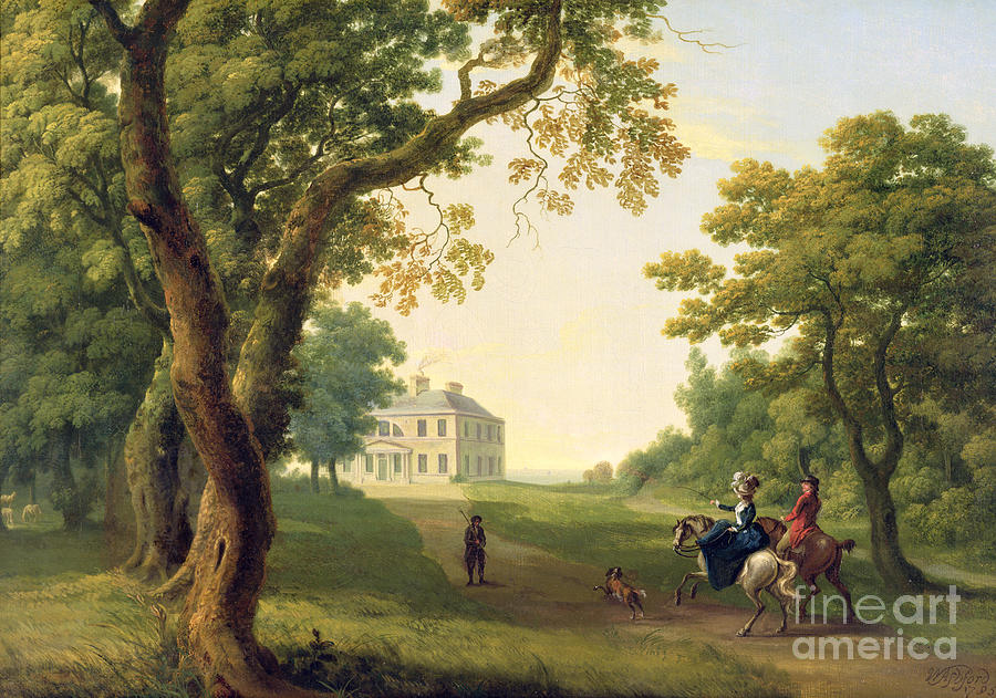Mount Kennedy - County Wicklow Painting by William Ashford