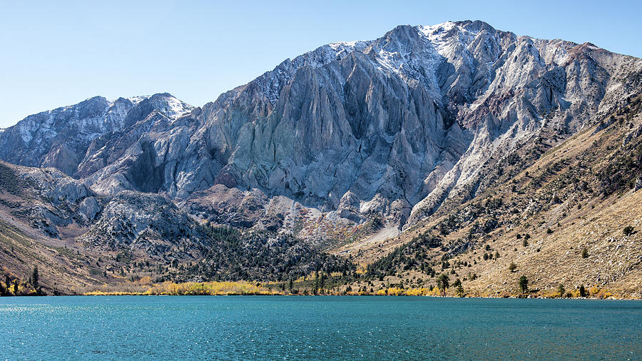 Mount Laurel And Convict Lake Photograph