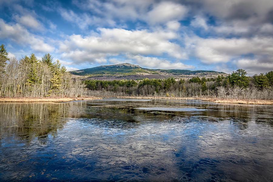 New Hampshire Photograph - Mount Monadnock, November by Bob Bernier