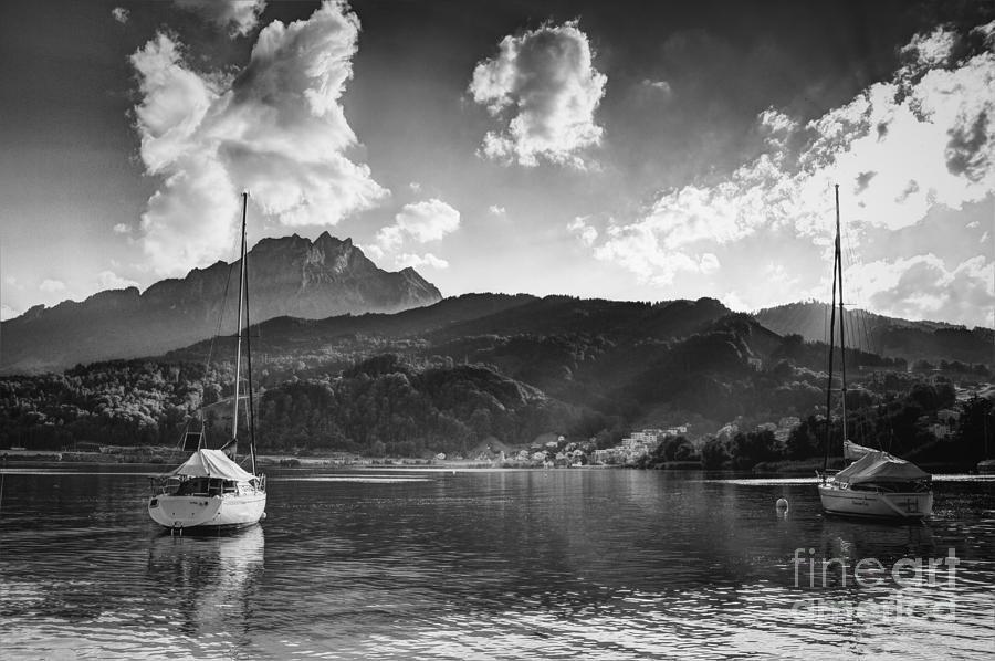 Mount Pilatus Photograph - Mount Pilatus In Lucerne Switzerland by Robert Peterson